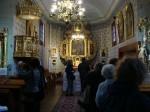 We wnętrzu kościoła pw. św. Mikołaja w Borowej Wsi