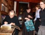 Prezentacja książki ks. prof. Michała Janochy, Ikony w Polsce; 21 XI 2008 (fot. M. Jakubek-Raczkowska)
