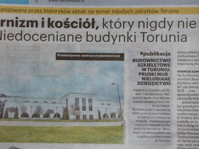 Mur pruski w Toruniu